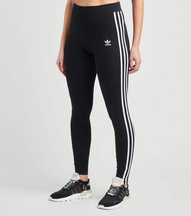 Adidas  3 Stripes Tights  Black - GN4504-001 | Jimmy Jazz