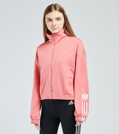 Adidas  3D Trefoil Track Top  Pink - GN6707-650 | Jimmy Jazz