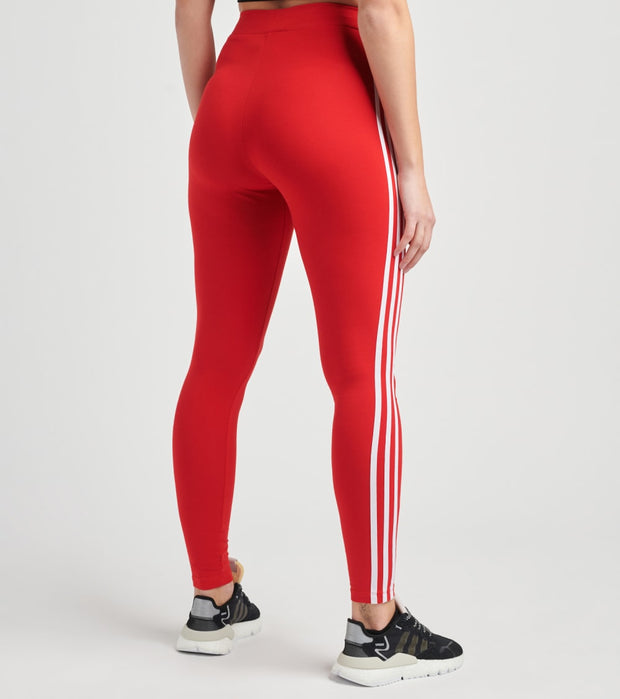 Adidas  3 Stripes Tights  Red - GN8076-610 | Jimmy Jazz