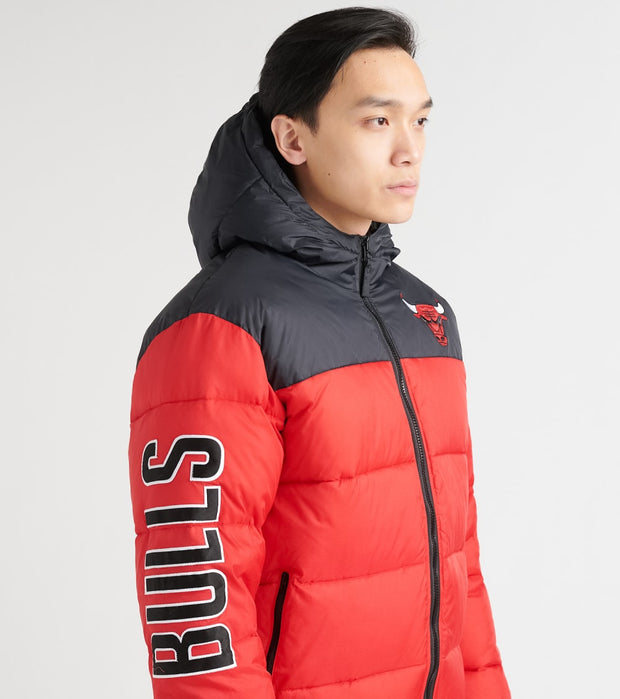 Unk  Bulls Bubble Hood Jacket  Red - GOM7717FCB-RDB | Jimmy Jazz