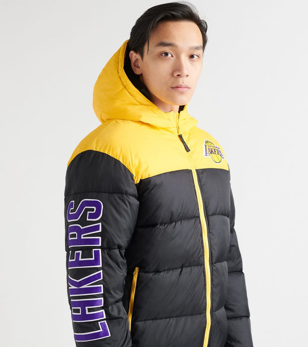 Unk  Lakers Bubble Hood Jacket  Black - GOM7717FLL-BKY | Jimmy Jazz