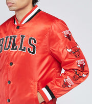 Unk  Cream Bulls Jacket  Red - GOM9925FCB-RED | Jimmy Jazz