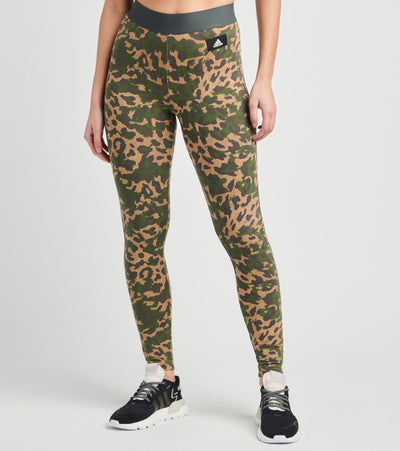 Adidas  Leopard Leggings  Multi - GP7373-250 | Jimmy Jazz