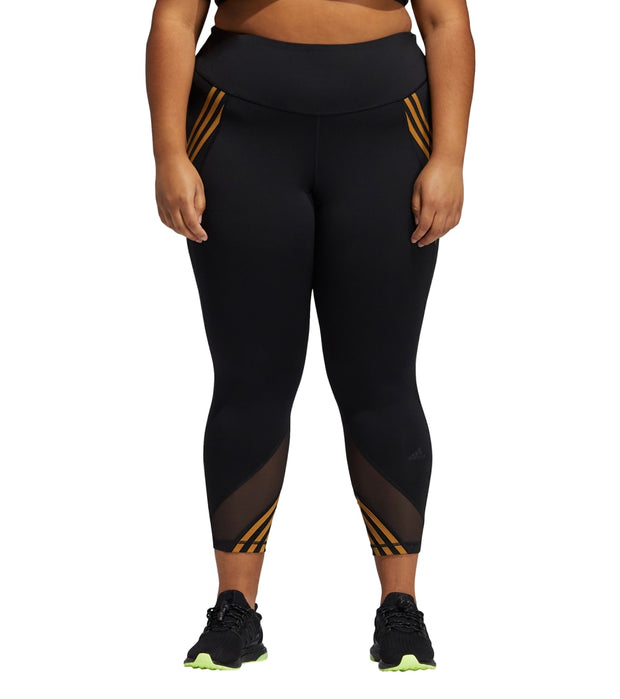 Adidas  Plus IVY PARK 3-Stripes Tights  Black - GS8837-001 | Jimmy Jazz