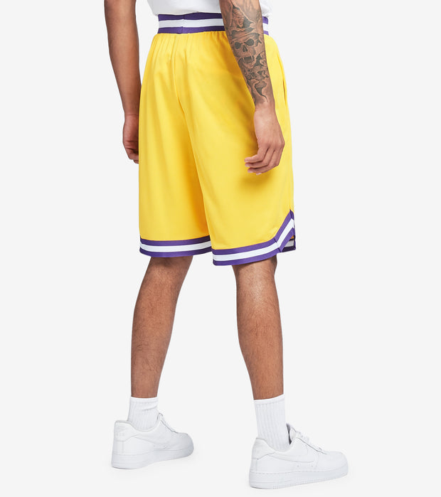 Unk  Lakers Banger Mesh Shorts  Yellow - GSMA225S-YEL | Jimmy Jazz