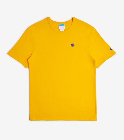 Champion  Left Chest C Logo Tee  Yellow - GT19Y06145-BYC | Jimmy Jazz