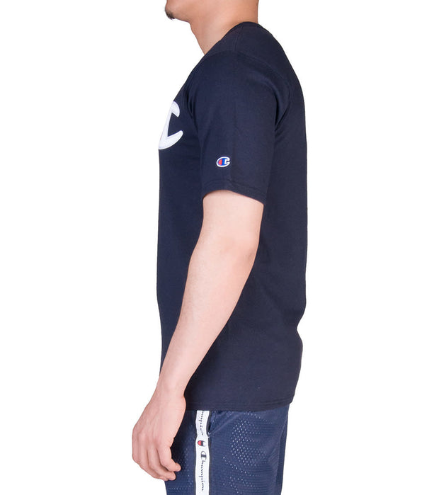 Champion  Heritage Patch Logo Tee  Navy - GT19Y06820-NYC | Jimmy Jazz