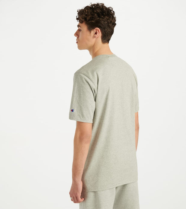 Champion  Heritage Floss Stitch Tee  Grey - GT19Y07981-1IC | Jimmy Jazz