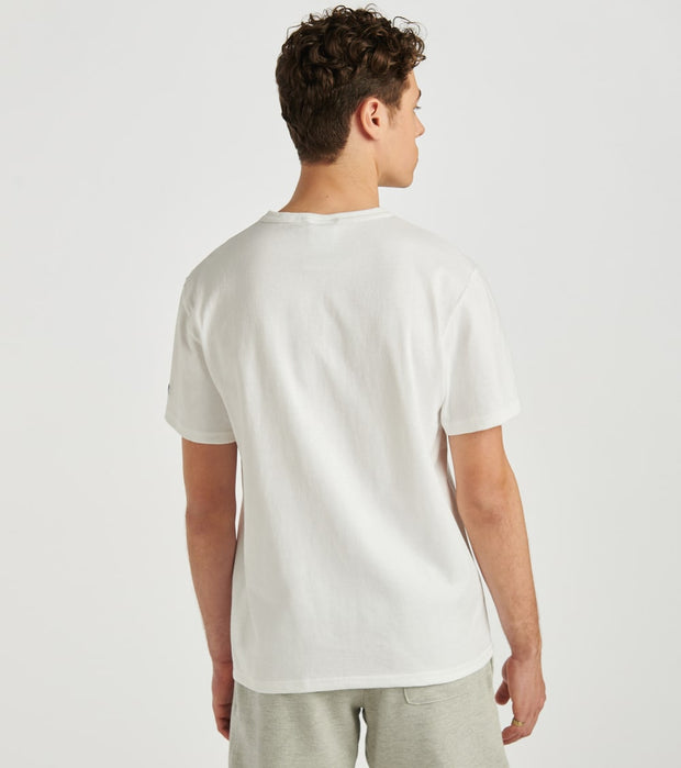 Champion  Heritage Floss Stitch Tee  White - GT19Y07981-WHC | Jimmy Jazz