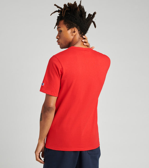Champion  Heritage Tee With Old English Lettering  Red - GT19Y07983-2WC | Jimmy Jazz