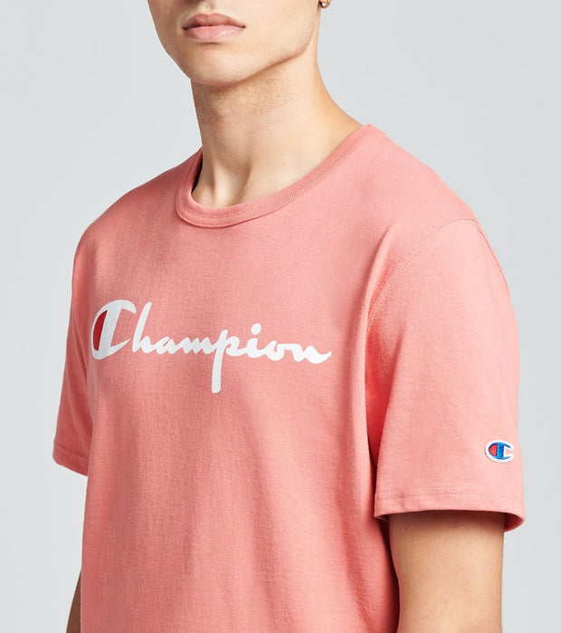 Champion  Heritage Short Sleeve Tee  Pink - GT19Y08254-5F4 | Jimmy Jazz