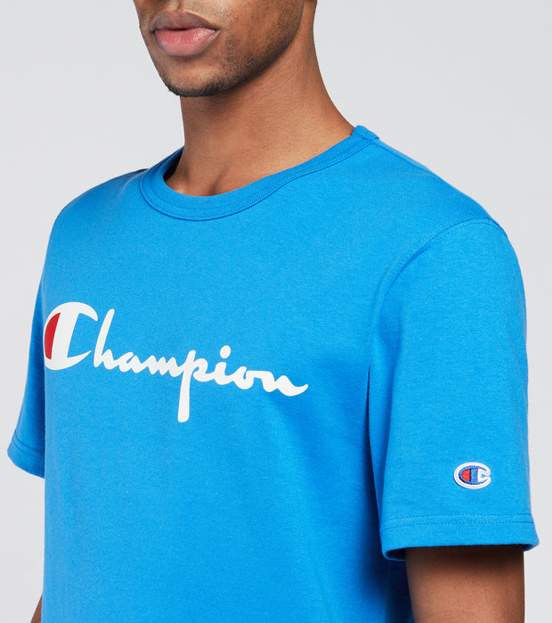Champion  Heritage Short Sleeve Tee  Blue - GT19Y08254-YI8 | Jimmy Jazz
