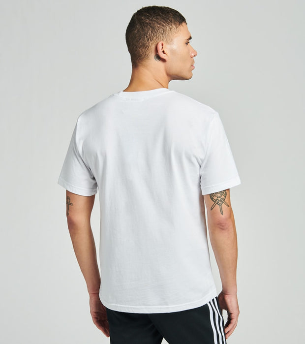 Adidas  America Stacked Short Sleeve Tee  White - GV4390-100 | Jimmy Jazz
