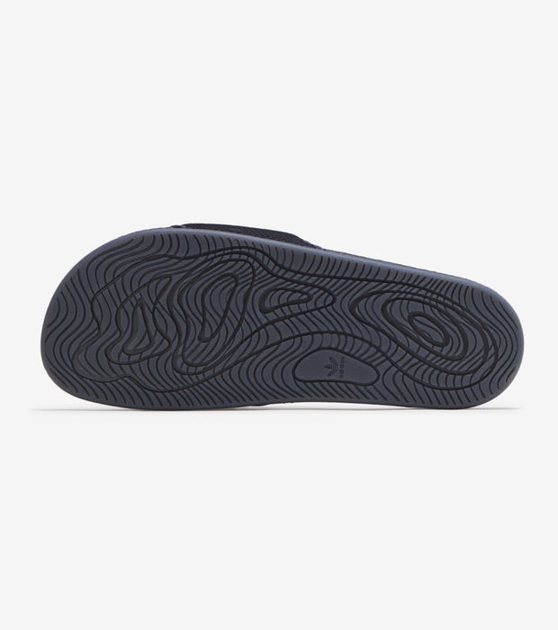 Adidas  Pharrell Williams Chancleta Hu Slides  Black - GX2483 | Jimmy Jazz
