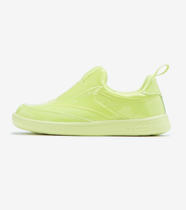 Reebok  Cardi Club C Slip On III  Green - H02520 | Jimmy Jazz