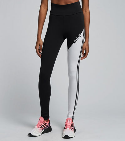 Adidas  Sliced Trefoil High Waisted Tights  Black - H38875-001 | Aractidf