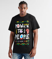 Reason  Power to the People Tee  Black - H9T08-BLK | Jimmy Jazz