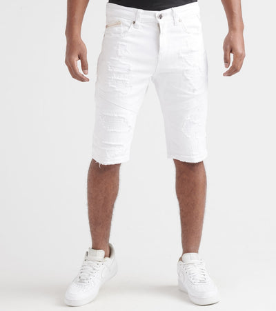 Heritage  Denim Shorts  White - HAWB720-WHT | Jimmy Jazz