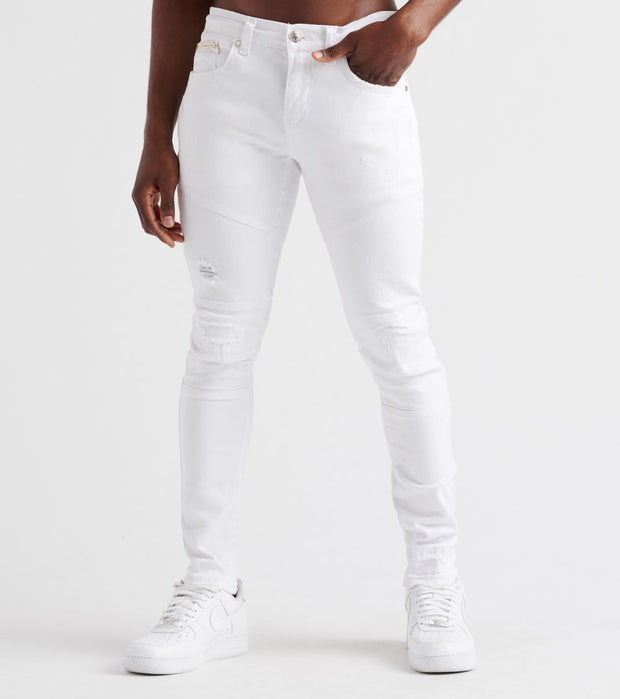 Heritage  7-Pocket Jeans  White - HAWB782-WHT | Jimmy Jazz