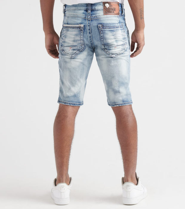 Heritage  Backing Shorts  Blue - HAWB817-IND | Jimmy Jazz
