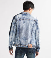Heritage  Dnm Jacket W Knicking  Blue - HAWJKT169-MWS | Jimmy Jazz