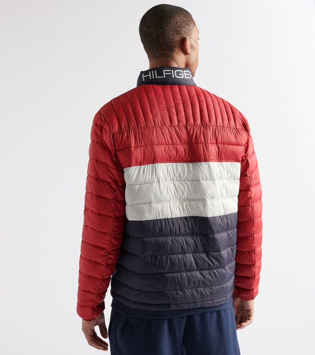 Tommy Hilfiger  Classic Filled Logo Jacket   Red - I58AN496-MJF | Jimmy Jazz