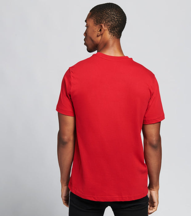 Industrial Indigo  Map Crystal Stone Tee  Red - ITNKT035-RED | Jimmy Jazz