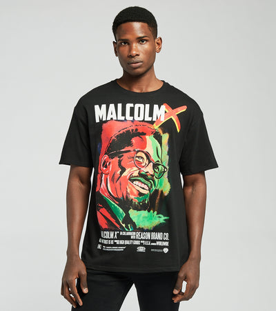 Reason  Malcolm x Portrait Tee  Multi - J01001-MLT | Jimmy Jazz