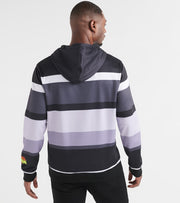 Freeze  Bugs and Daffy Striped Hoody  Black - JL50029-BLK | Jimmy Jazz