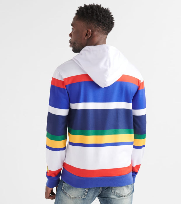 Freeze  Bugs and Daff Striped Hoody  White - JL50029-WHT | Jimmy Jazz