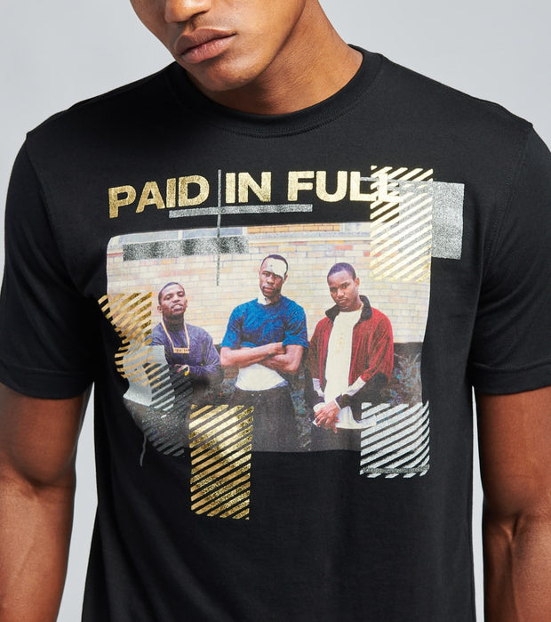 DE.KRYPTIC  Paid in Full Strapped Tee  Black - JMTS052605MRX-BLK | Jimmy Jazz