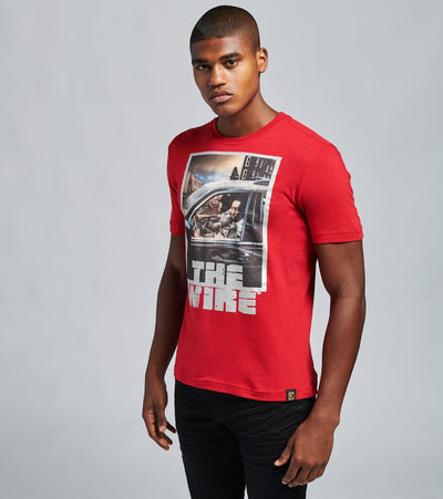DE.KRYPTIC  The Wire szn3 in Car Ss Tee  Red - JMTS052703HBO-RED | Jimmy Jazz