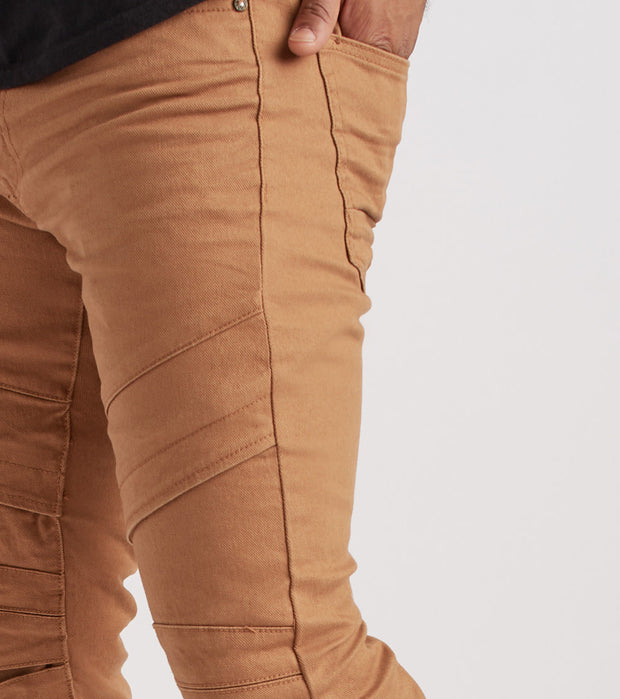 Decibel  Slim Cut Twill Pant - L32  Beige - JP8112L32-WHE | Jimmy Jazz