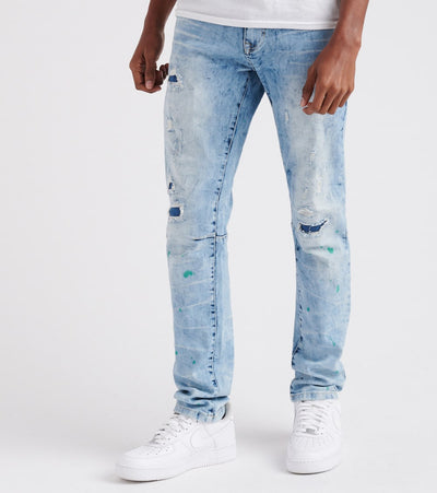 Decibel  Ted Distressed Jean - L32  Blue - JP8630L32-NBL | Jimmy Jazz