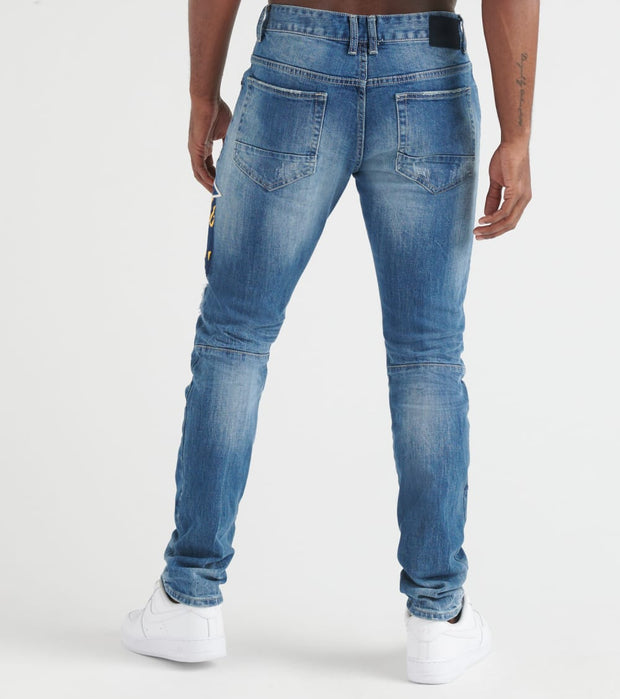 Decibel  Smoke Rise Fashion Jeans - L34  Blue - JP9131L34-SBL | Jimmy Jazz