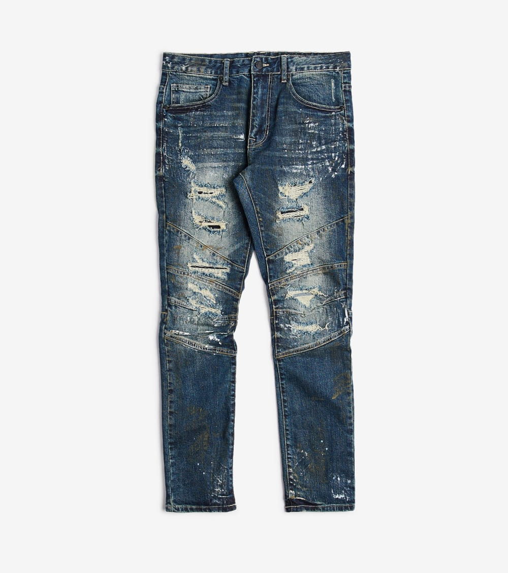 Decibel  Rips N Mending Jeans  Blue - JP9926L32-CBL | Jimmy Jazz