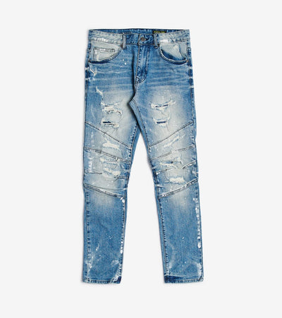 Decibel  Rips N Mending Jeans  Blue - JP9926L32-HBL | Jimmy Jazz