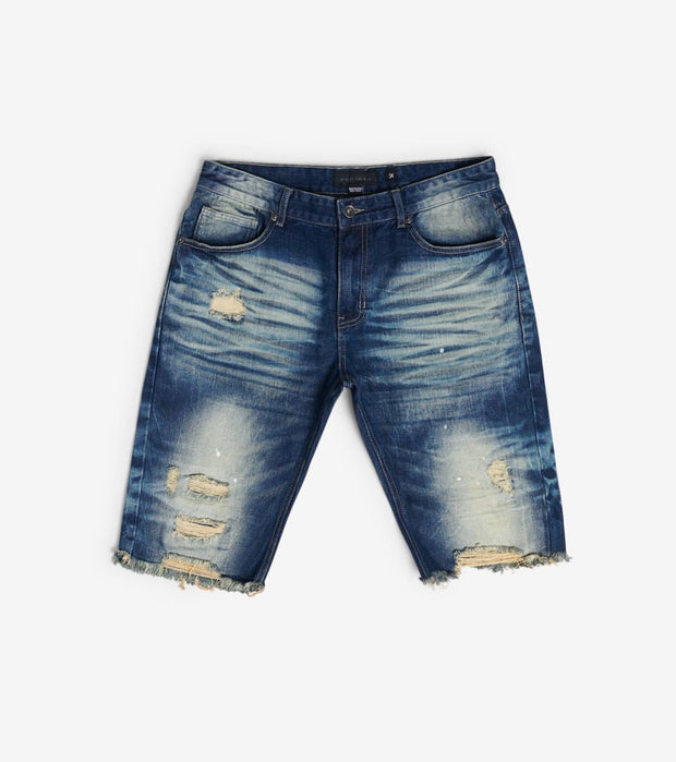 Decibel  Basic RIP off Denim Shorts  Blue - JS120141-DWS | Jimmy Jazz