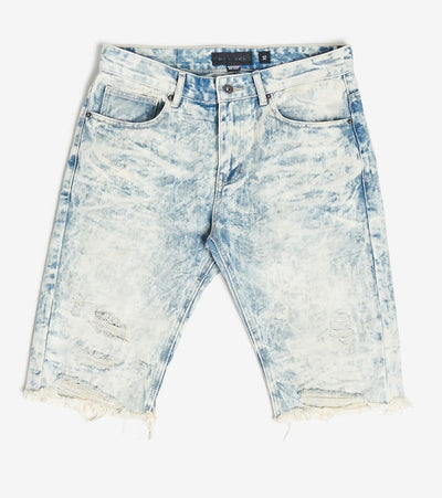 Decibel  Basic Rip Off Denim Shorts  Blue - JS120141-SNR | Jimmy Jazz