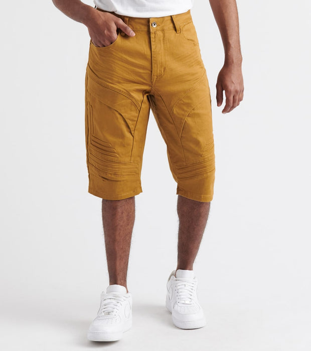Decibel  Cut 3D Block Cargo Shorts  Brown - JS19134-WHE | Jimmy Jazz