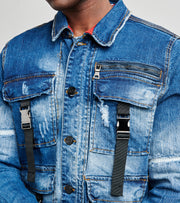 Cargo Denim Jacket