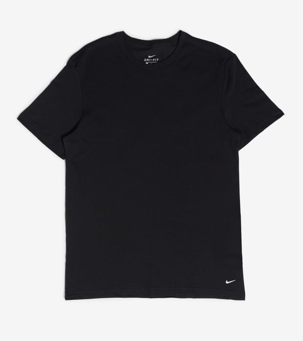 Nike   Everyday Cotton 2 Pack Crewneck   Black - KE1003-001 | Jimmy Jazz