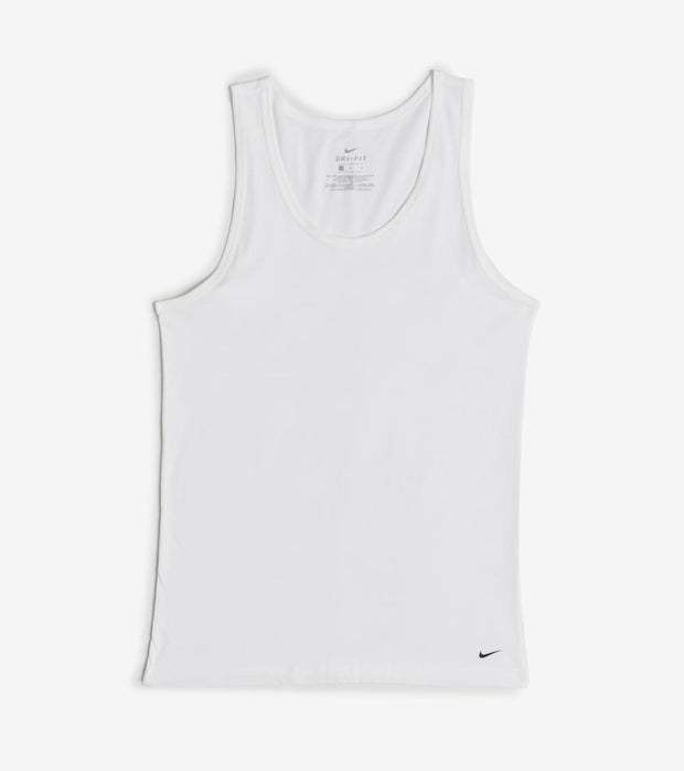 Nike  Everyday Cotton 2 Pack Tank Undershirt  White - KE1005-100 | Jimmy Jazz