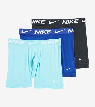 Nike  Essential Micro Boxer Briefs 3 Pack  Blue - KE1015-445 | Jimmy Jazz
