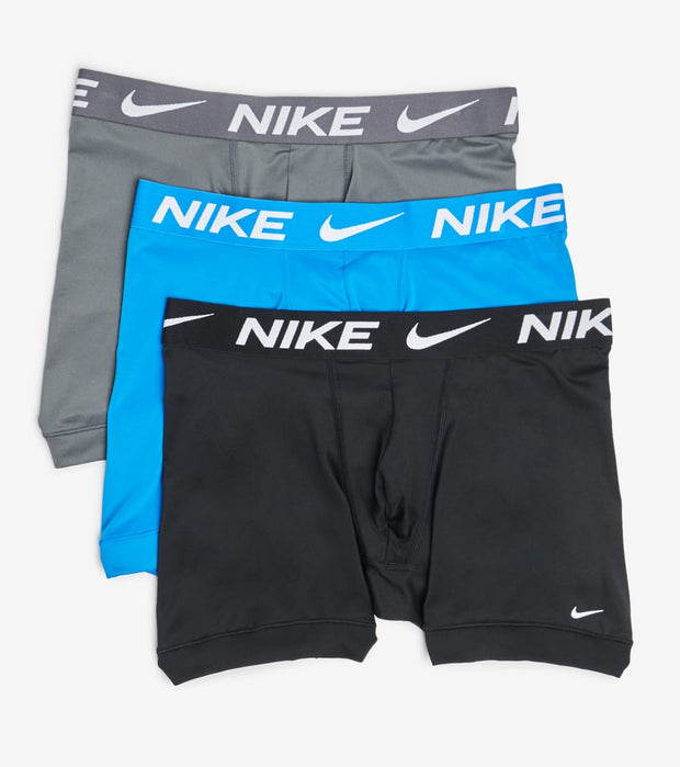 Nike  Essential Micro 3 Pack Boxer Briefs  Blue - KE1015-461 | Jimmy Jazz