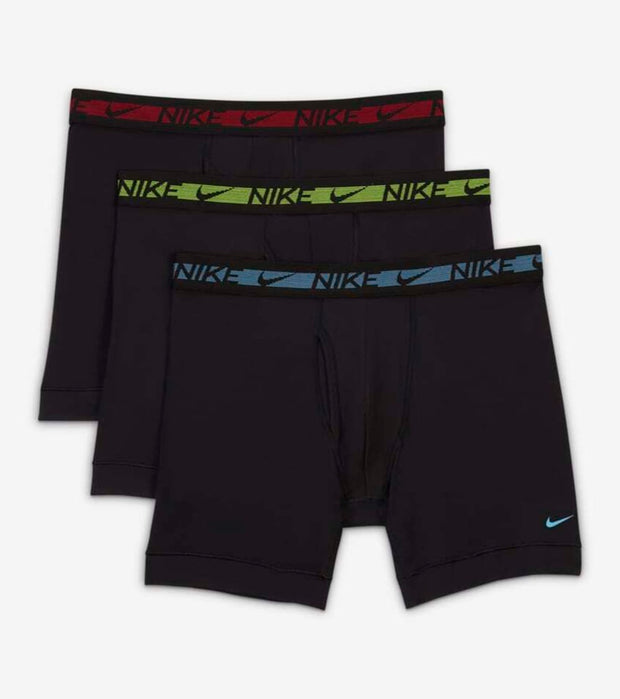 Nike  Flex Micro Boxer Briefs 3 Pack  Black - KE1028-007 | Jimmy Jazz