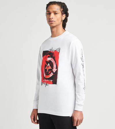 Lrg  Blooming Unity Long Sleeve Tee  White - L0FEMLCXX-WH22 | Jimmy Jazz