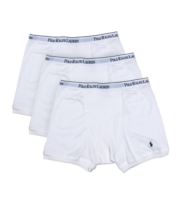 Polo  THREE BOXER BRIEFS  White - LCBB-WH | Jimmy Jazz
