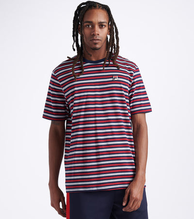 Fila  Hugh Short Sleeve Tee  Multi - LM015778-410 | Jimmy Jazz