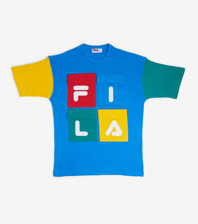 Fila  Hakon Tee  Multi - LM015849-440 | Jimmy Jazz